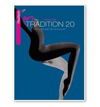 Hudson Tradition 20 panty grote maten