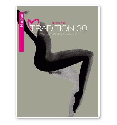 Hudson Tradition 30 grote maten panty